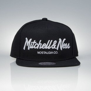 Mitchell & Ness czapka snapback Mitchell And Ness Logo black Pinscript EU336