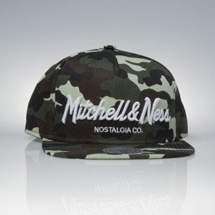 Mitchell & Ness czapka snapback Mitchell And Ness Logo camo Pinscript EU336