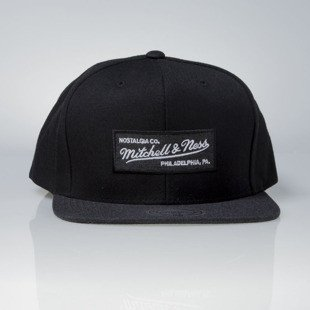 Mitchell & Ness czapka snapback Mitchell and Ness Logo black Heather 2 Tone EU946