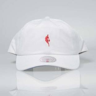 Mitchell & Ness czapka snapback NBA white / red INTL053 Little Dribbler Dad Hat