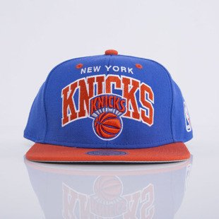 Mitchell & Ness czapka snapback New York Knicks royal Team Arch NA80Z