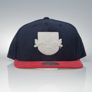 Mitchell & Ness czapka snapback New York Red Bulls red / navy Sandy Off White VV18Z