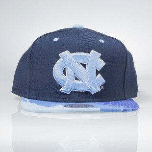Mitchell & Ness czapka snapback North Carolina Tar Heels navy BRUSH EU149