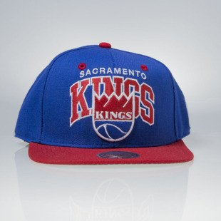Mitchell & Ness czapka snapback Sacramento Kings blue TEAM ARCH NA80Z