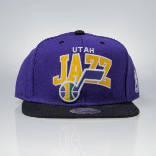 Mitchell & Ness czapka snapback Utah Jazz purple TEAM ARCH NA80Z