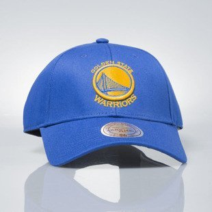Mitchell & Ness czapka strapback Golden State Warriors royal EU1053 LOW PRO