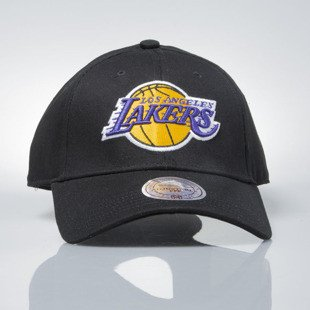 Mitchell & Ness czapka strapback Los Angeles Lakers black EU1053 LOW PRO