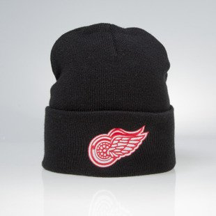 Mitchell & Ness czapka zimowa Detroit Red Wings black Team Logo Cuff EU785