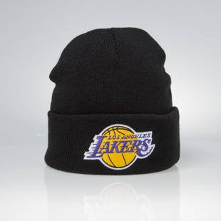 Mitchell & Ness czapka zimowa Los Angeles Lakers black Team Logo Cuff EU785
