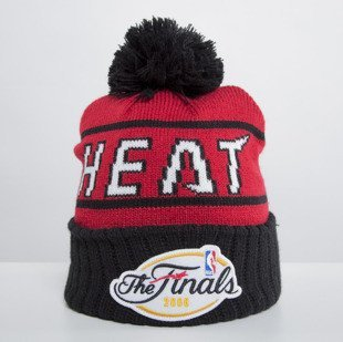 Mitchell & Ness czapka zimowa Miami Heat red Championship KS56Z