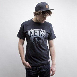 Mitchell & Ness koszulka Brooklyn Nets black Gradient Infill Traditional