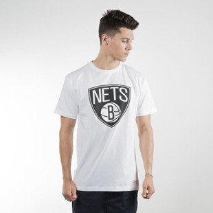 Mitchell & Ness koszulka t-shirt Brooklyn Nets white Team Logo Traditional