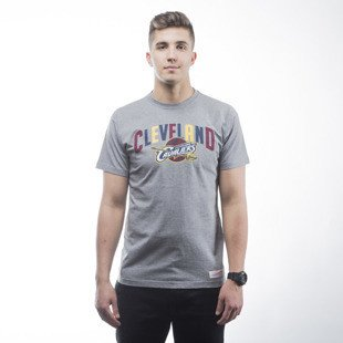 Mitchell & Ness koszulka t-shirt Cleveland Cavaliers heather grey Tri Pop Traditional