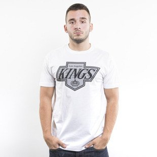 Mitchell & Ness koszulka t-shirt Los Angeles Kings white Team Logo Traditional