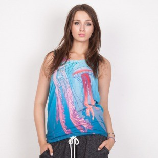 Mr GUGU koszulka tank top Jellyfish multicolor
