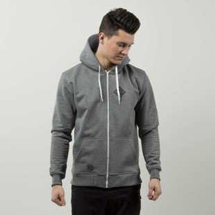 Nervous bluza sweatshirt ZIP Hood Sphere grey