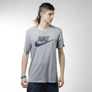 Nike koszulka t-shirt Futura Icon heather grey (696707-066)