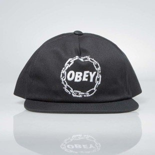 Obey czapka Chains Snapback black