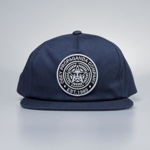 Obey czapka Established 89 Snapback II navy