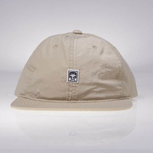 Obey czapka Half Face 6 Panel Hat khaki