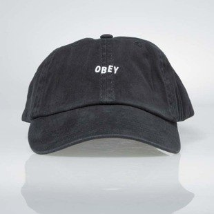 Obey czapka Jumble Bar Hat II 6 Panel black