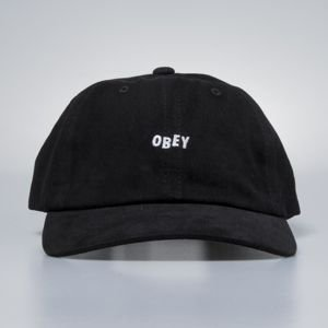 Obey czapka Jumble Bar III 6 Panel black
