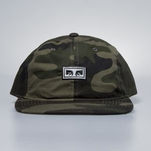 Obey czapka Overthrow 6 Panel Snapback camo
