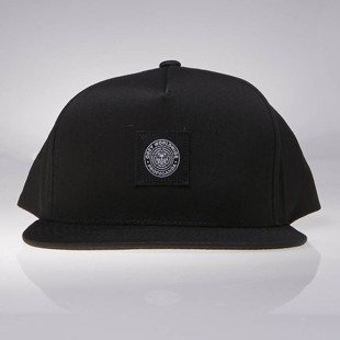 Obey czapka Worldwide Seal Snapback black