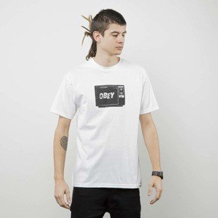 Obey koszulka t-shirt Obey What To Think white