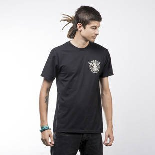 Obey koszulka t-shirt Peace & Justice Eagle black