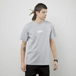 Obey t-shirt Obey Jumbled heather grey