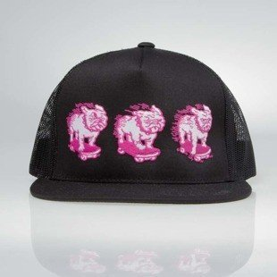 POGO czapka Trucker Bulldog black