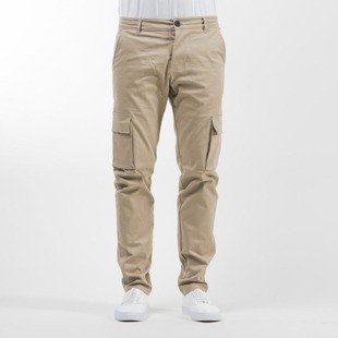 Phenotype spodnie Cargo Chino light beige