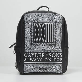Plecak Cayler & Sons BL Bumrush Backpack black BLACK LABEL