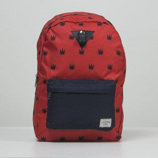 Plecak Cayler & Sons Budz n Stripes Downtown Backpack red / navy (CAY-SS15-BP-02-02)