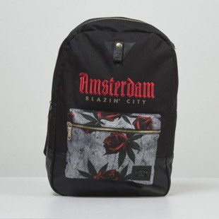 Plecak Cayler & Sons GL Amstardam Uptown Backpack black / red / mc