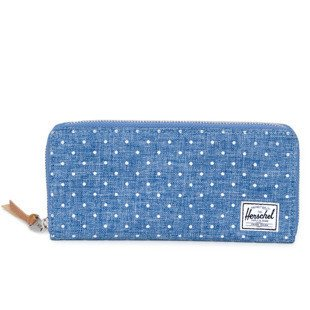 Portfel Herschel Avenue Wallet limoges crosshatch / white polka (10200-00912)