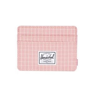 Portfel Herschel Charlie + Wallet strawberry grid 10360-01580