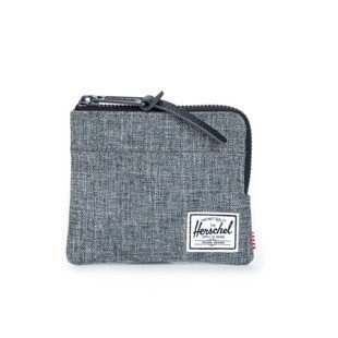 Portfel Herschel Johnny Wallet raven crosshatch (10094-00919)