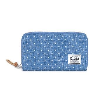 Portfel Herschel Thomas Wallet limoges crosshatch / white polka (10154-00912)