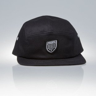 Prosto KLASYK czapka 5Panel Fatcap Cover black