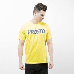 Prosto Klasyk koszulka T-Shirt Basic yellow / navy