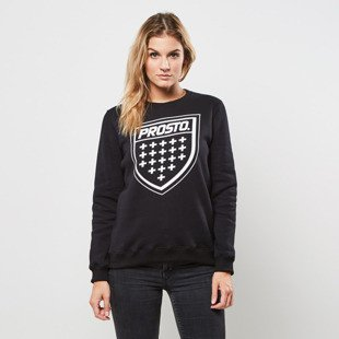 Prosto bluza Girls Crewneck Shield black 4381