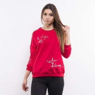 Prosto bluza Sweatshirt Sequin red