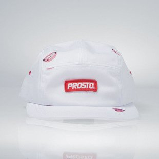 Prosto czapka 5-panel Fatcap Love You white