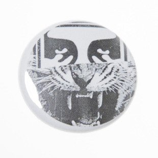 Przypinka Obey pin Half Face Icon