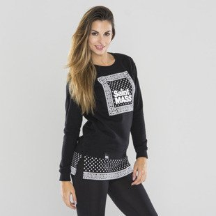 Saint Mass bluza crewneck Compton Long black