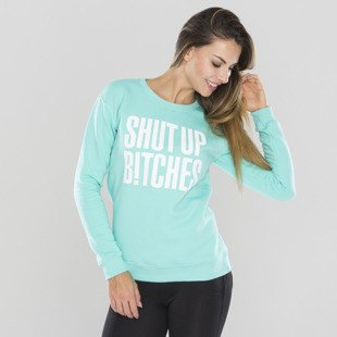 Saint Mass bluza crewneck Shut Up Crewneck mint