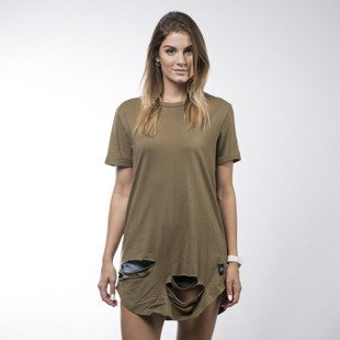Sixth June koszulka t-shirt Sixth June khaki WMNS (M1783VTS-KAKI)