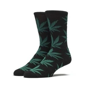 Skarpety HUF Plantlife Crew Sock black / green